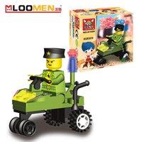 Wholesale J505 Mini Building Block Sets Jigsaw DIY Bricks toys Early Educational Brinquedos Kids Gift