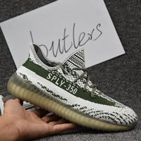 Cheap 2017 Adidas Originals Yeezy 350 Boost V2 Running Shoes Men Women Hot Sale SPLY-350 Yeezys Black White 2016 New Sports Shoes With Box