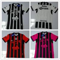 Precio de Camisetas de fútbol de color rosa-Camisetas tailandesas del fútbol de Necaxa del club de México de la calidad tailandesa 16/17 Camisetas del fútbol de Guadalajara Monterrey Maillot De Foot de Monterey