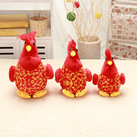 big cock animals - Cute Stuffed red Big cock Plush Toy animal chicken plush toys Nice Gift For Kids and Friends Christmas gift