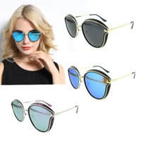 Wholesale New Fashion Vintage Sunglasses Cat Eye Sunglasses high quality designer brand brand Sunglasses for Big trend of high end eyewear