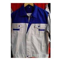 Wholesale Lstest Version Summer Short Sleeve Work Uniform Clothes Suit Vehicle Repair Superior Fabric Five Size Blue Shoulder Beige Body