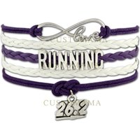 best marathons - Custom Infinity Marathon Running Bracelet Marathon miles Charm Best Gift for Marathon Runners Custom Any Themes
