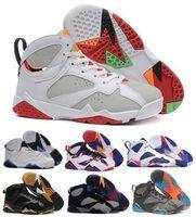 air signature - Special offer Basketball Shoes Air Retro Men Women Kids Real Retro Sneakers Authentic Replica Signature Zapatos Retros Shoe VII