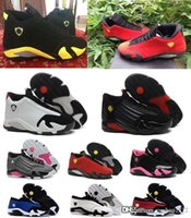 Cheap Cheapest sale retro MJ 14 women basketball shoes online 100% original quality sneakers US size 5.5-8.5 with box free shipping