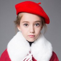 Wholesale new arrivals Adult Candy Colors Caps Hat all match beret winter warm woolen cap hat more than colors