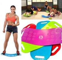 Wholesale Simply Fit Board Fitness Balance Board Professional Blue Orange Green Purple Body Shaper Yoga Plate