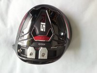 Wholesale brand golf club original grade OEM BLACK R15 driver wood whole club with headcover freeshipping