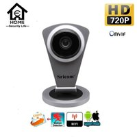 Wholesale Sricam Home Smart IP Camera WIFI HD IR SD Card Slot G Wireless IP Camera P P2P For Android iOS PC Mini Baby Monitor