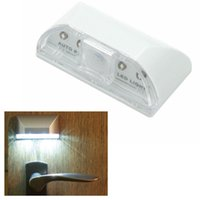 auto door sensor - PIR Wireless Auto Sensor Motion Detector LED Light Door Keyhole Security Lamp