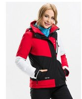 Wholesale 2016 new ski clothing mountaineering clothing Jacket waterproof waterproof breathable thickening Ms fashion coat Europe and the United Stat