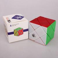 Dayan Dino Skewb Cuatro Cubo Cubo Magico Twist Rompecabezas cubo mágico Educación Juguete regalo idea