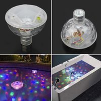 ac baths - Color Changing Glowing LED Underwater Light Show Swimming Pool Disco Party Spa Bath Pond Waterproof Lights