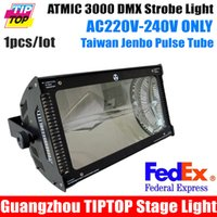 Wholesale Sample V V Atomic W Martin Strobe Light Led Stage Effect Lighting For DJ Equipment DMX512 CHs Led Flash Light
