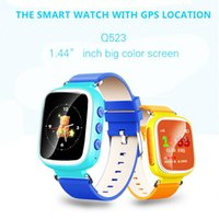 best wifi finder - Best selling GPS Q523 Touch Screen WIFI Smart Watch Children SOS Call Location Finder Device Tracker Kid Safe Anti Lost Monitor