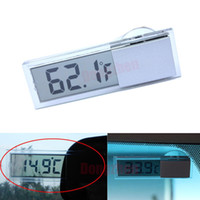 Wholesale 1X Digital Display LCD Indoor Home Room Meter Thermometer LCD Suction Cup