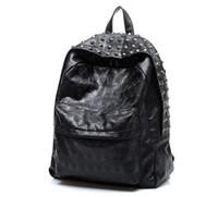 best business backpacks - Best Selling New Arrival Men s Skull Backpack School Bag Rivet Vintage Female Bags Ghost Design Backpack For Students
