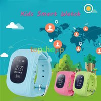 Wholesale High Quality Q50 Kids Smart Watch GPS LBS Double Location Safe Children Watch Activity Tracker SOS Card for Android and IOS DHL free