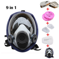 Wholesale Piece Suit Updated Painting Spraying Similar For Gas Mask Full Face Facepiece Respirator