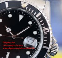 Luxury AAA + Quality Watch Vintage 40mm 16610 16610LN Date Black Bezel 50th Anniversary Mark Asia 2813 ETA 3135 Mouvement Automatic Mens Watch