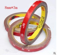 Wholesale 8mm m M Auto Truck Car Foam Double Sided Attachment Tape Adhesive