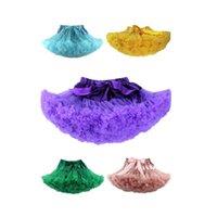 Wholesale Five colors Various sizes Children s skirt gauze skirt dress Princess TUTU children Mens virgin skirt fold Abstract color