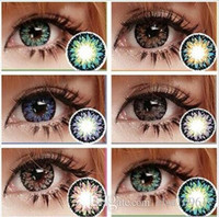 beautiful lenses - 2016 New Milk Shake Big beautiful eyes contact lenses yearly use