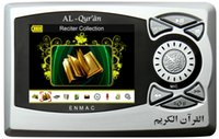 Wholesale Islamic Digital Quran Player Inch Quran MP4 Player with reciters and Quran Translations Enmac DQ804