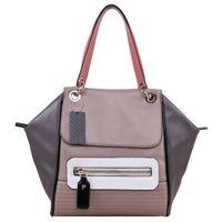 Wholesale BIG PROMOTION free Shippiing good quality women pvc pathwork letter shoulder bag handbag