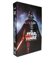 Wholesale 100pcs Hot sale DVDs Star Wars the complete sage US Version Disc DHL free