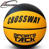 basketball ball games - Brand CROSSWAY Size Basketball Genuine Wear Soft Leather Fancy Ball Street Game Ball