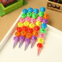 Wholesale crayon brush Marker Highlighter Stationery copic markers art supplies material school