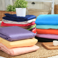 Wholesale Hot sale Solid fitted sheet combed cotton with reactive dying tc high counts and high density