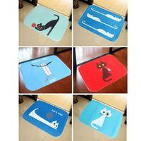 bath area rugs - Bath Mat Carpet cm X cm Cute Cat Pattern Home Decor Area Rug Carpet Bathroom Bearoom Floor Dining Room Mat Doormat