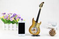 Wholesale Despertador Flip Clock Electronic Desk Clock Shop Ten Yuan Supply cm Electric Guitar Home Furnishing Gift Cool Retro Alarm