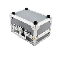 Wholesale Dentist Dental Binocular Loupes Optical Glass Loupe Led Head Light Lamp Aluminum Tool Box Case Container