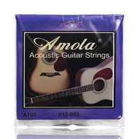 Wholesale Amola Acoustic Guitar Strings Wound Guitar Strings