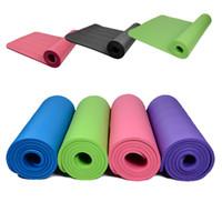 beginner dance - Yoga Mat Pad Non Slip Tapis De Fitness For Customer Exercise Sport Dance Folding Mats MM Colour Option