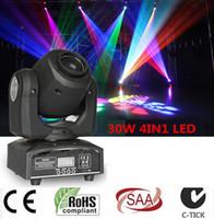 Wholesale led IN1 W led spot moving head light Mini Moving Head Light W DMX dj gobos effect led stage lights ktv bar