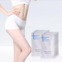Wholesale 500pcs New arival PILATEN Hair Removar Cream Painless Depilatory Cream For Leg Armpit Body g Hair Removal Cream