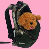 Wholesale New Portable Pet Dog Cat Puppy Travel Double Shoulder Backpacks Sport Travel Outdoor Pet Carrier Bag