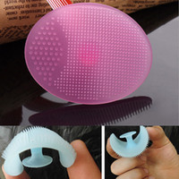 Wholesale Pc Beauty Tool Makeup Face Cleanser Cleaning Pad Wash Exfoliating Face Brush Skin Blackhead Cleanser