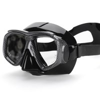 Wholesale wimming Diving Diving Masks Spearfishing goggles Snakeskin Snorkeling Diving Mask for Scuba dive Freediving lexible Silicone Tempered Gl