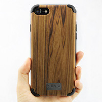 best iphone accessories - Luxury Wood Cellphone Back Cover Cases For iPhone plus With Best Quality Unique Design PC Soft TPU Protective Accessories Case