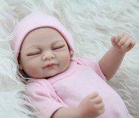 Wholesale 10pcs Full Body Silicone Reborns Baby Dolls For Girls Soft Bebe Reborn Brand Doll Fashion Girls Toys Birthday Gift