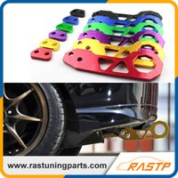 Wholesale RASTP Universal JDM Sytle Billet CNC Aluminum Anodized Racing Rear Tow Hook Red Black Purple Blue Gold RS TH004W