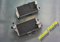 Wholesale Right Left aluminum radiator for Honda CR R CR250R water box motorcycle replacement parts engine cooling parts