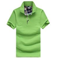 Wholesale 2017 Summer new design fashion tee brand polo shirt men homme men s casual t shirt cotton short sleeve