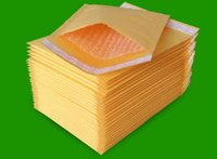 Wholesale Mail Bags Small Kraft Bubble Mailer Padded Envelopes Bags Mailers Self Sealing Shipping Package Pack x130mm
