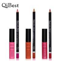 Wholesale NEW makeup Kit Qibest Makeup Set Soft Matte Cream Magical Halo Lipliner Pencil Fadeless Kits sets Lip Gloss
